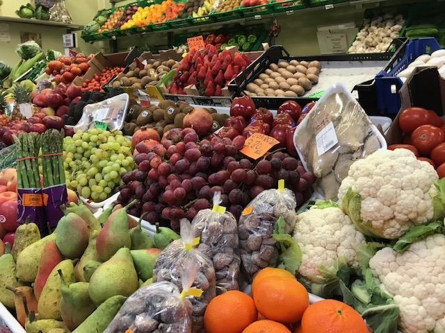 Vegan auf Teneriffa leben - Obst und Gemüse Teneriffa