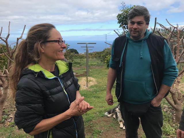 Sandra Kober - Chefin einer Bio Finca und Wanderführerin auf Teneriffa