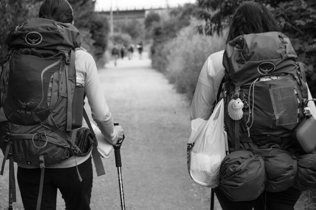 Backpacker auf Teneriffa - digitale Nomaden - Internetnomaden